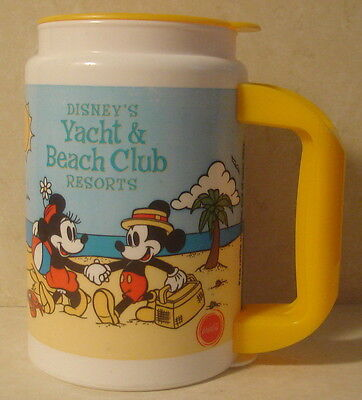 Walt Disney World Yacht and Beach Resort with Characters  Drink Cup Mug