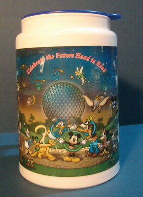 Walt Disney World Celebrate the Future Hand in Hand  Drink Cup Mug