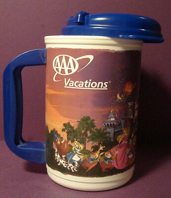 Promotional AAA Vacations Disneyland The Happiest Place on Earth Drink Cup Mug