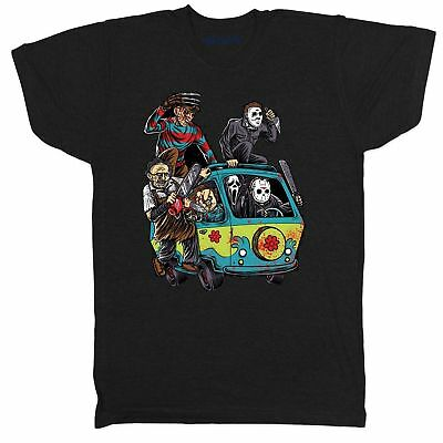 Halloween Horror Chucky Jason Myers Freddy Film Movie Retro Scream T Shirt