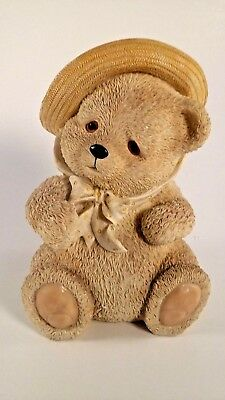 Teddy Bear Piggy Bank with Hat