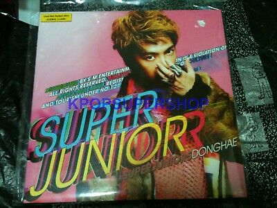 Super Junior Vol. 5 - Mr. Simple (Type A) Donghae Ver. CD NEW Sealed K-POP KPOP