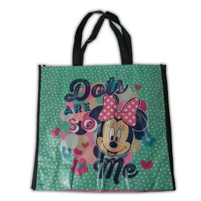 Minnie Mouse Reusable Shopping Bag Green Bag for Life Shoulder Eco Carry Disney