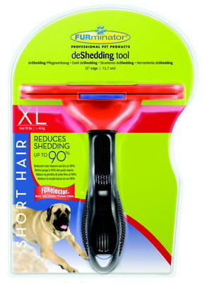 Furminator Removing Short Hair Giant Deshedding Tool. Free Ship To The Usa