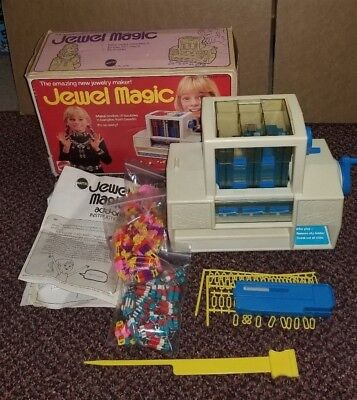 Vintage Mattel Jewel Magic Complete with Box & Instructions Girl's Toys 1975
