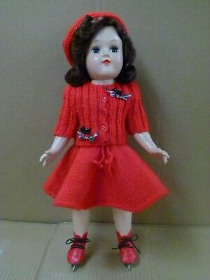 1950s IDEAL P-91 TONI DOLL 16 INCHES TALL