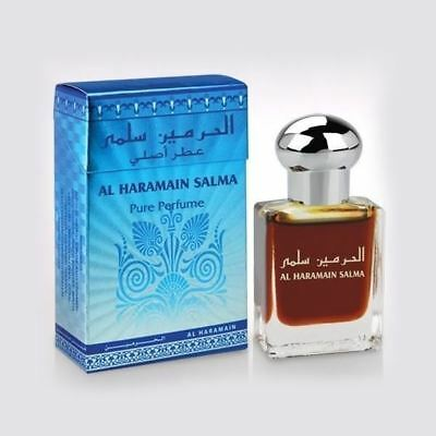 Salma Attar Perfume Oil 15ml Roll on Musky Aroma Floral Ittar Al Haramain