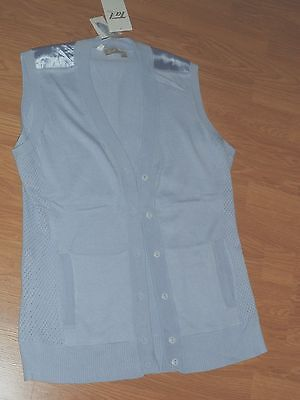 Tail Tech Golf Knit Performance Sweater Vest Size Xs - M Blue Water Repel Nwt