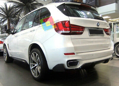 BMW X5 Painted Gloss Black  F15 REAR SPOILER ON ROOF Extension Lip spoiler