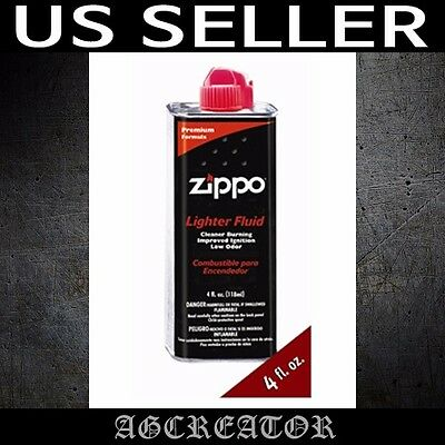 Zippo lighter fluid 4 fl. oz. 118ml premium formula fuel