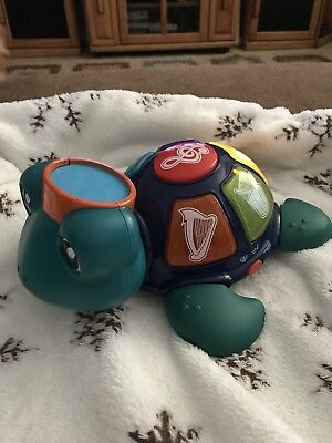 Green Musical Turtle Baby Einstein Neptune Orchestra Kids Toddler Learning Toy