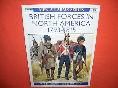 Osprey Men at Arms 319, British Forces in NORTH AMERICA 1793-1815