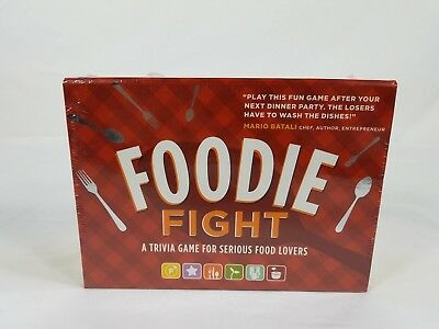Foodie Fight: A Trivia Game for Serious Food Lovers - New Factory Sealed