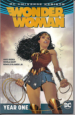 DC Universe Rebirth - Wonder Woman Vol. 2 Year One - Softcover NEW