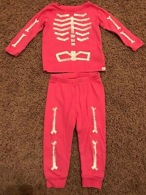 932ce02ae2f3 BABY GAP 12-18 Months Girl 2 Piece Sleepwear Pajamas PJs Halloween ...