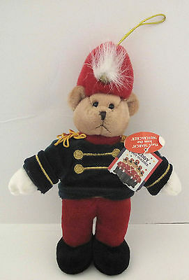 Plush Toy Nutcracker Soldier Holiday Ornament 9in