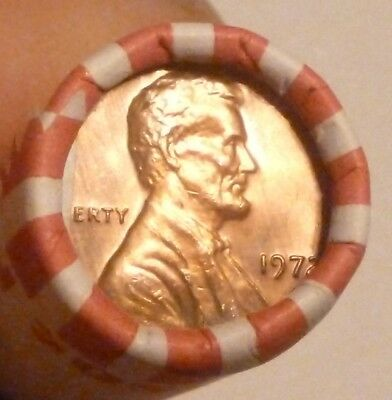 1972P Lincoln Memorial Cent Uncirculated Original Penny Sealed Rolls