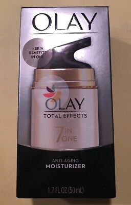OLAY Total Effects 7-In-1 ~Anti-Aging Daily Moisturizer 1.70oz/50ml