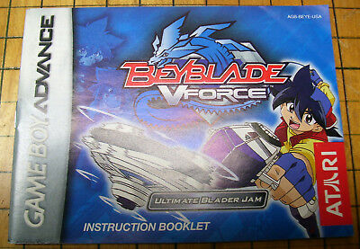 beyblade v force game boy advance