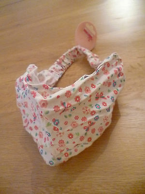 BNWT George Pink Floral Cotton Headband (Ideal Party Prize Loot Bag Girls Gift)