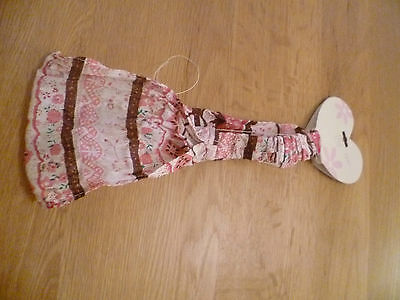 BNWT George Pink Floral Cotton Headband ~Party Prize Loot Bag Gift Present Girls