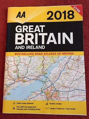 AA Great Britain Road Map