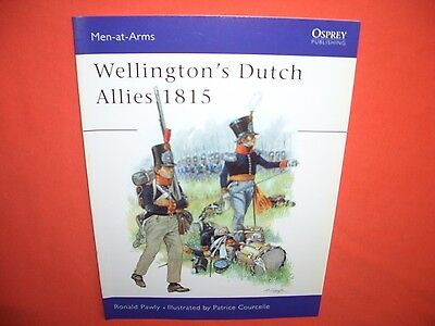 Osprey Men at Arms 371, Wellington`s DUTCH ALLIES 1815