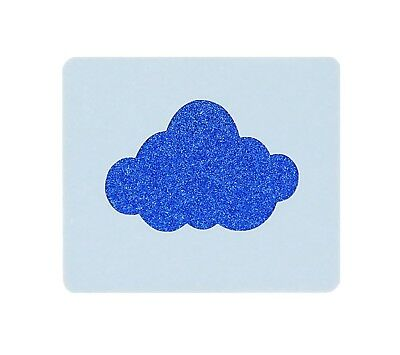 Cloud Face Painting Stencil approx 7cm x 6cm Washable and Reusable