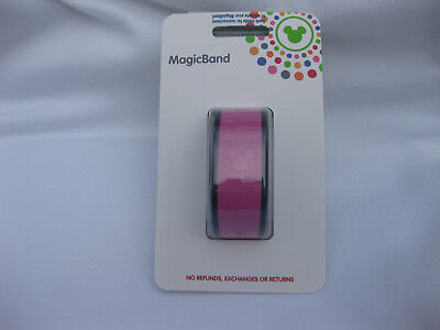 Disney Parks Pink Link It Later Magic Band - Sealed Package