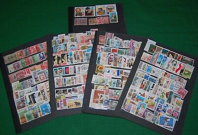 Lot of 300 +  Used U.S. Stamps LG COMMEMORATIVES, Air Mail VINTAGE Most Pre-90s