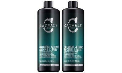 Tigi Catwalk Oatmeal & Honey Shampoo and Conditioner 25.36 Oz Tween - NEW