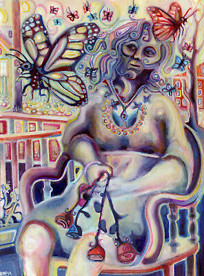 """Signed 13"""" x 17"""" art print of the painting """"Butterflies"""" by Josh Byer"""