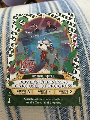 Mickey's Very Merry Christmas Party Sorcerers of the Magic Kingdom card 2017...