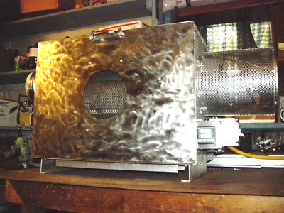 Made In USA 20 Lb (9 Kg) Capacity Commercial Electric Coffee Roaster, PID, 60RPM