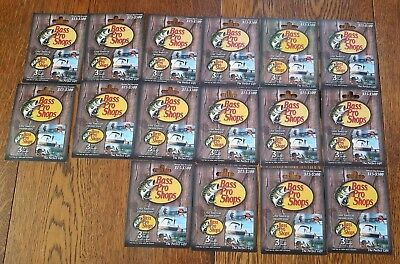 Bass Pro Shops Fish UNCHARGED NO VALUE Collectible Gift Cards Lot 16 New On Card