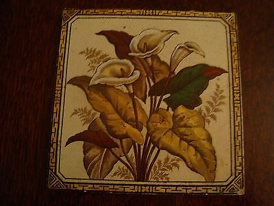 Victorian Tile - Images of Flowers and Leaves 17/146
