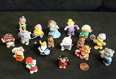 Lot of 17 Hallmark & Other Figures: Cute Seasonal ANIMAL MINI Figurines
