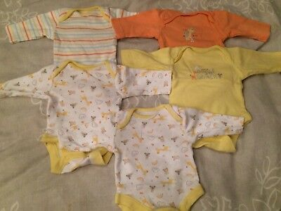5pack Tiny Baby Bodysuit