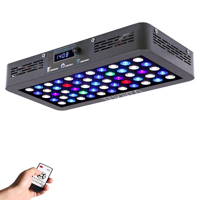 VIPARSPECTRA Timer Control 165W LED Aquarium Light Dimmable Full Spectrum for Co