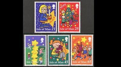 ISLE OF MAN SG912-916 2000 CHRISTMAS and EUROPA Unmounted Mint