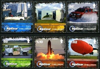 Isle Of Man Sg1706-1711 2011 Top Gear Challenges  ~ Unmounted Mint