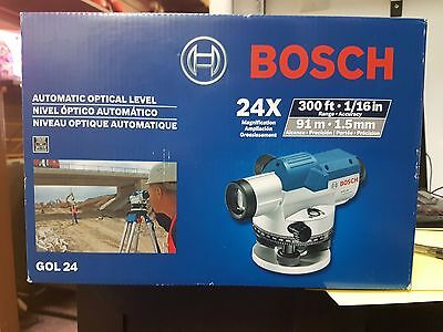 BOSCH GOL 24 Automatic Optical Level BRAND NEW IN BOX