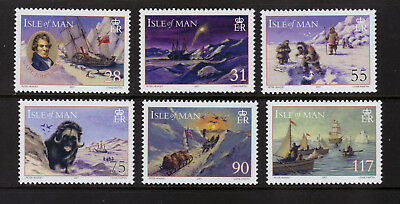 ISLE OF MAN SG1387-1392 2007 POLAR YEAR (1st issue)  Unmounted Mint