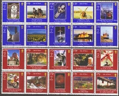 ISLE OF MAN SG1001-1020 2002 PHOTOGRAPHY The People's Choice 20v Unmounted Mint