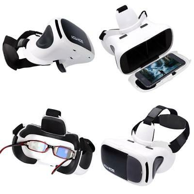 bcbe731334f VR Headset 3D Virtual Reality Glasses Compatible with Smartphone Size 4.5   -6