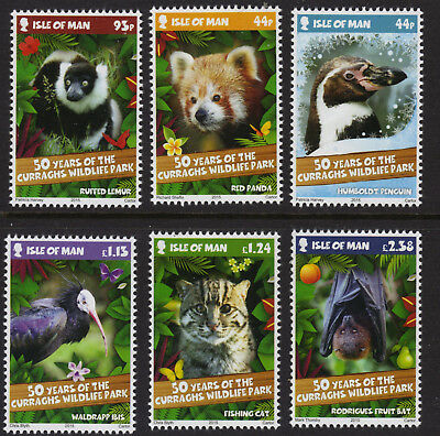 ISLE OF MAN SG2017-2022 2015 CURRAGH'S WILDLIFE PARK 50 Years ~ Unmounted Mint
