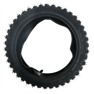 """2.50-10"""" Inch Front Knobby Tyre Tire + Tube PIT PRO Trail Dirt PW50 Dirt Bike"""