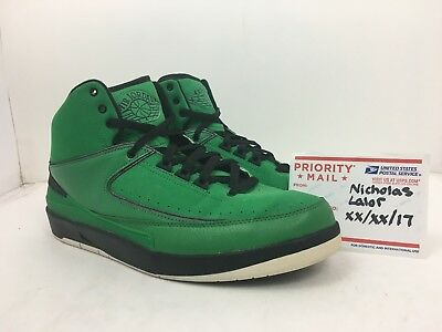 3d4cd92b52d NIKE AIR RETRO Jordan 2 QF Candy Pack Classic Green size 10.5 ...