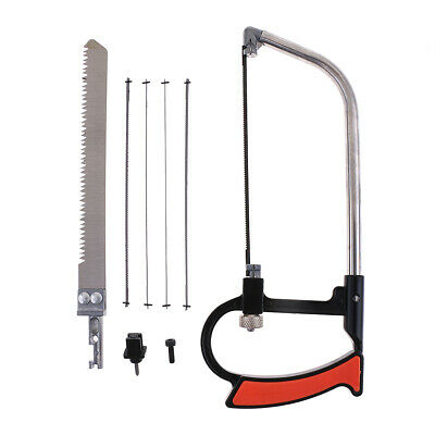 Alloy Steel Jewelry Saw Frame Adjustable With Blades 7 Pieces DIY Hand Tools