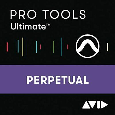 Avid Pro Tools ULTIMATE Perpetual License Electronic Download  UPC 724643120696